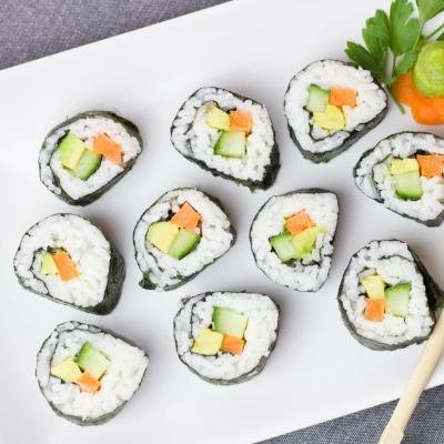 Суши, Доставка на храна за вкъщи